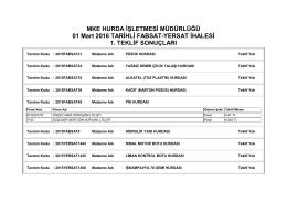 01.03.2016 tarihli fabsat-yersat ihalesi 1. teklif sonuçları