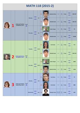 math 118 (2015-2) 1 semra kaptanoğlu