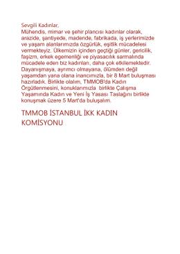 tmmob istanbul ikk kadın komisyonu