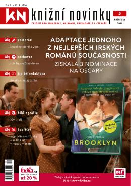 Knižní novinky č. 5/2016 - Svaz českých knihkupců a nakladatelů