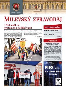 Milevský zpravodaj 03-2016