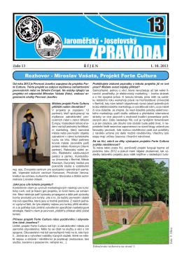 Oficiální stránky města Jaroměř