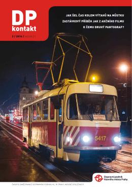 02 Únor 2016 - Dopravní podnik hlavního města Prahy