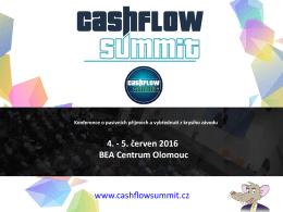 Stát se partnerem - Cashflow Summit