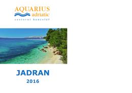 Katalog CK Aquarius Adriatic pro rok 2016