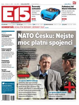 NATO Česku: Nejste moc platní spojenci