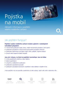 Pojistka na mobil - MAXIMA pojišťovna, as