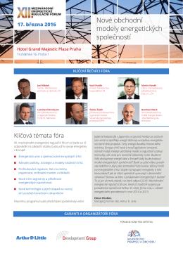Program XII. Mezinárodního energetického regulačního fóra