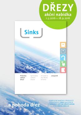 Sinks_Akční nabídka_2016 březen