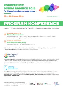 program - Agora Central Europe