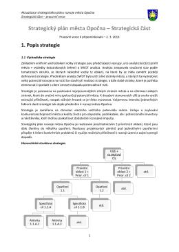SPRM_Opocno - Strategická část