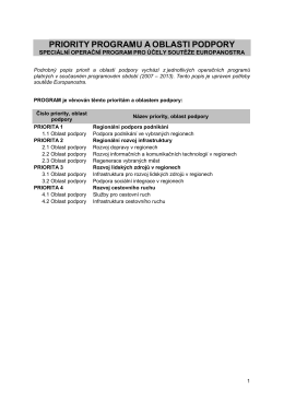 Programový dokument