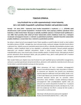 Lesy Krušných hor se stále vzpamatovávají z imisní kalamity