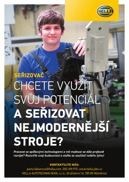 Hledáme seřizovače - firma Hella Autotechnik Nova s.r.o