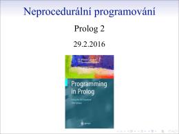 Neprocedurální programování