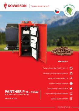 PAntHeR P 20 – 35 kW