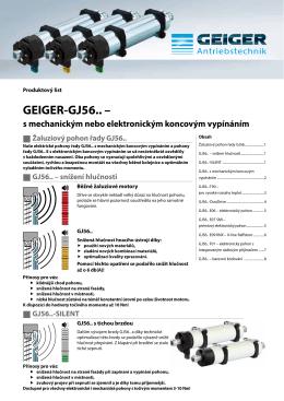 GEIGER-GJ56.. –