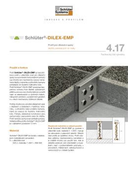 Schlüter®-DILEX-EMP - Schlüter