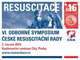 Sponzorská nabídka - Česká resuscitační rada