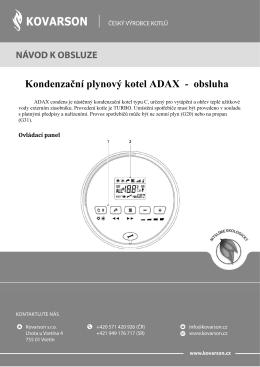 ADAX_rychlá obsluha