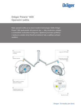 Informace o výrobku: Dräger Polaris® 600