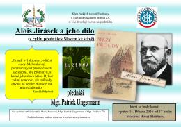 Alois Jirásek a jeho dílo