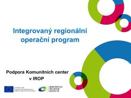 Příprava programového období 2014-2020