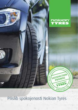 Příslib spokojenosti Nokian Tyres