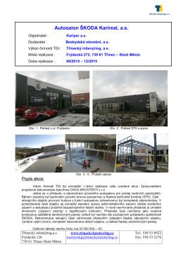 referenční list - Třinecký inženýring as