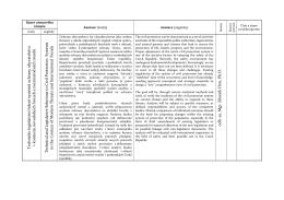 Technicko legislativní řešení systému ochrany obyvatelstva v