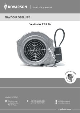 Ventilátor VPA 06