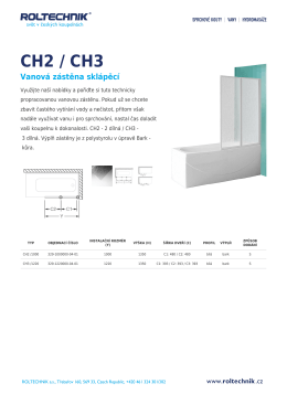 CH2 / CH3 - Koupelny