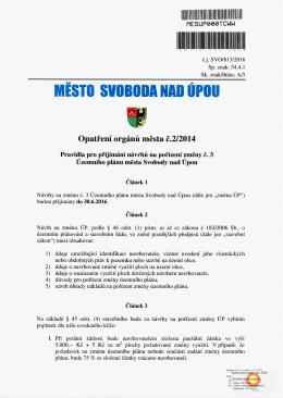 Elektronický podpis - 1.3.2016 Certifikát autora podpisu :