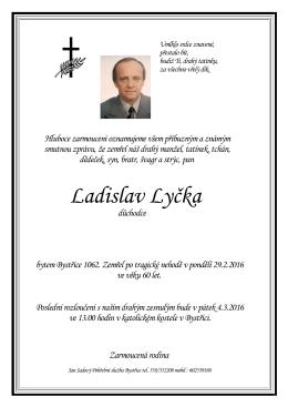 Ladislav Lyčka