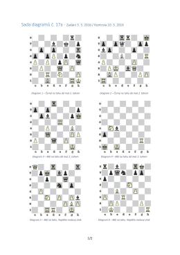 Sada diagramů č. 17a - Zadání 3. 3. 2016 / Kontrola 10. 3. 2016