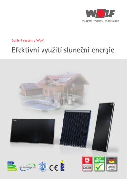 Efektivní využití sluneční energie