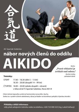 Aikido - tj spartak soběslav