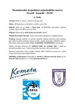 informace - Kometa Brno plavání