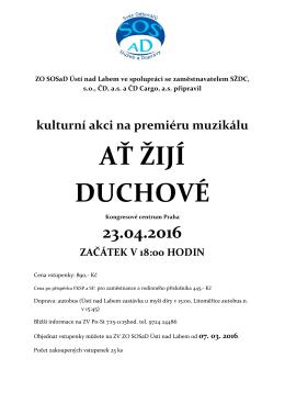 ať žijí duchové - ZO SOSaD Ústí nad Labem
