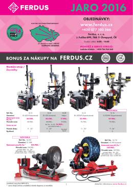 JARO 2016 - FERDUS.cz