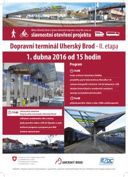 slavnostní otevření projektu Dopravní terminál Uherský Brod