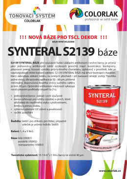 SYNTERAL S2139 báze