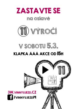 V SOBOTU 5.3.
