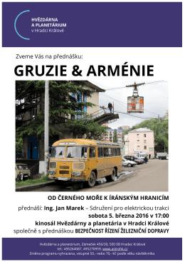Gruzie a Arménie - Hvězdárna a planetárium Hradec Králové