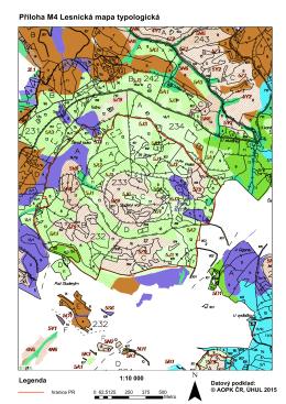 Příloha M4 Lesnická mapa typologická