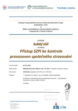 Pozvánka 5.4.2016 - Krajská hospodářská komora KHK
