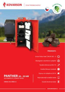 PAntHeR 20 – 35 kW