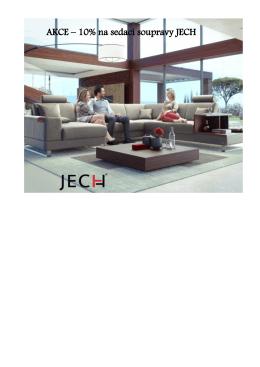 AKCE – 10% na sedací soupravy JECH