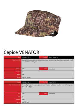 Čepice VENATOR - CANIS Safety as