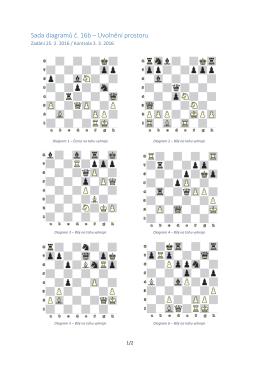 Sada diagramů č. 16b – Uvolnění prostoru